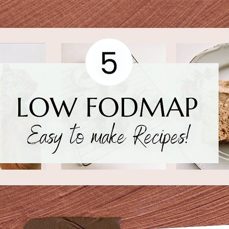 5 Easy Low FODMAP Recipes To Make!