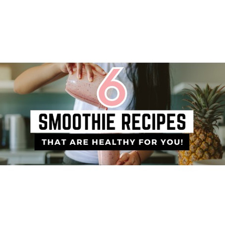 6 Delicious Low FODMAP Smoothie Recipes!