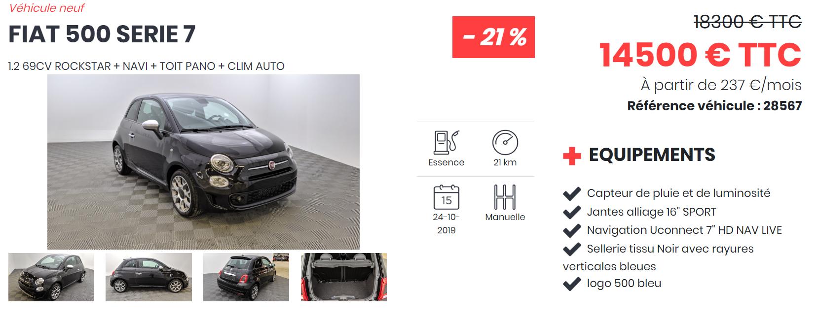 FIAT 500 SERIE7