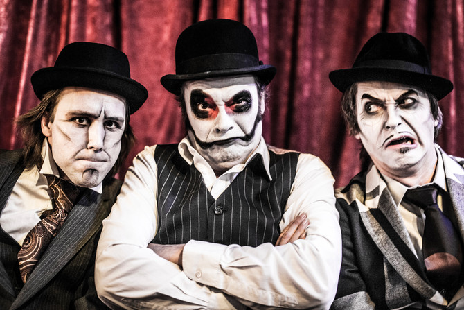 Shooting with the gorgeous Tiger Lillies
