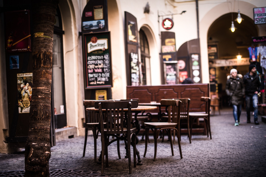 Hinterhof, Prag, Praque
