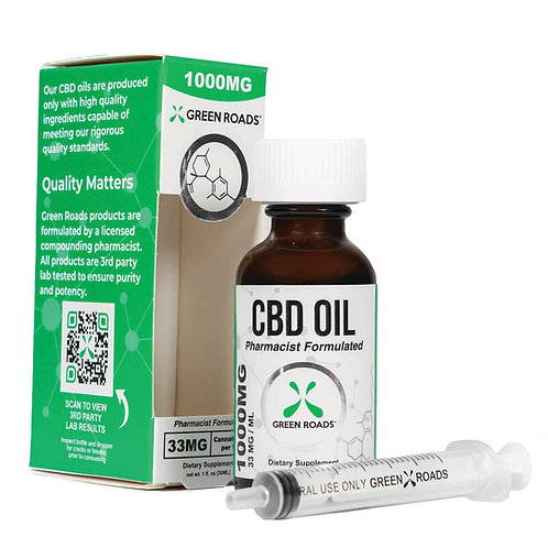 Green Roads CBD Oil 1250 MG