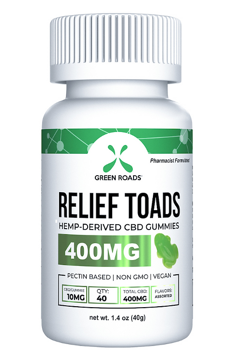 Green Roads CBD Relief Toads