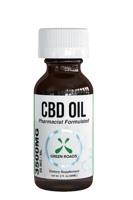 Green Roads CBD Oil 3500 MG