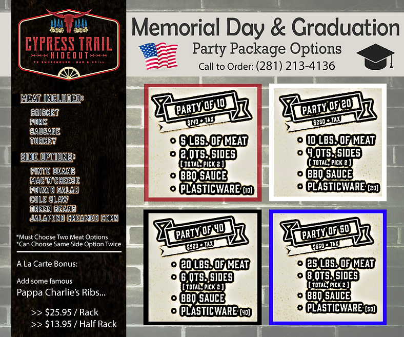CTH - Memorial Day & Graduation Creative