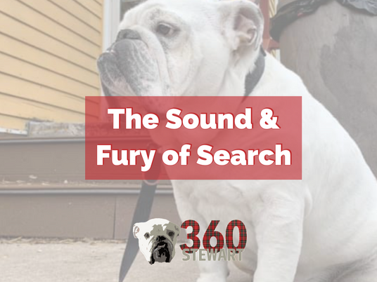The Sound and Fury of Search