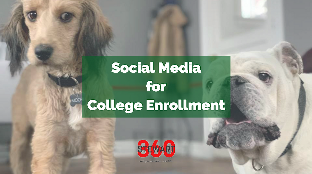 Using social media to increase college enrollment