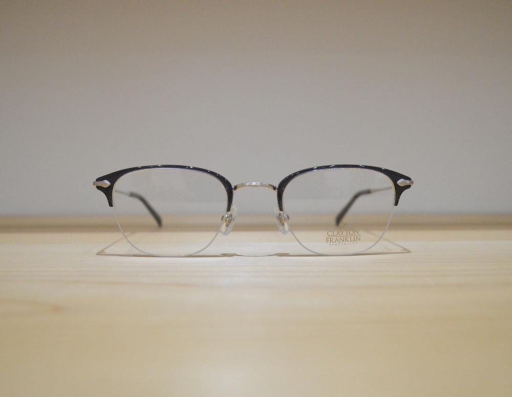 CLAYTON FRANKLIN CF590 C-SL (好印象を与える大人のオフィス眼鏡)