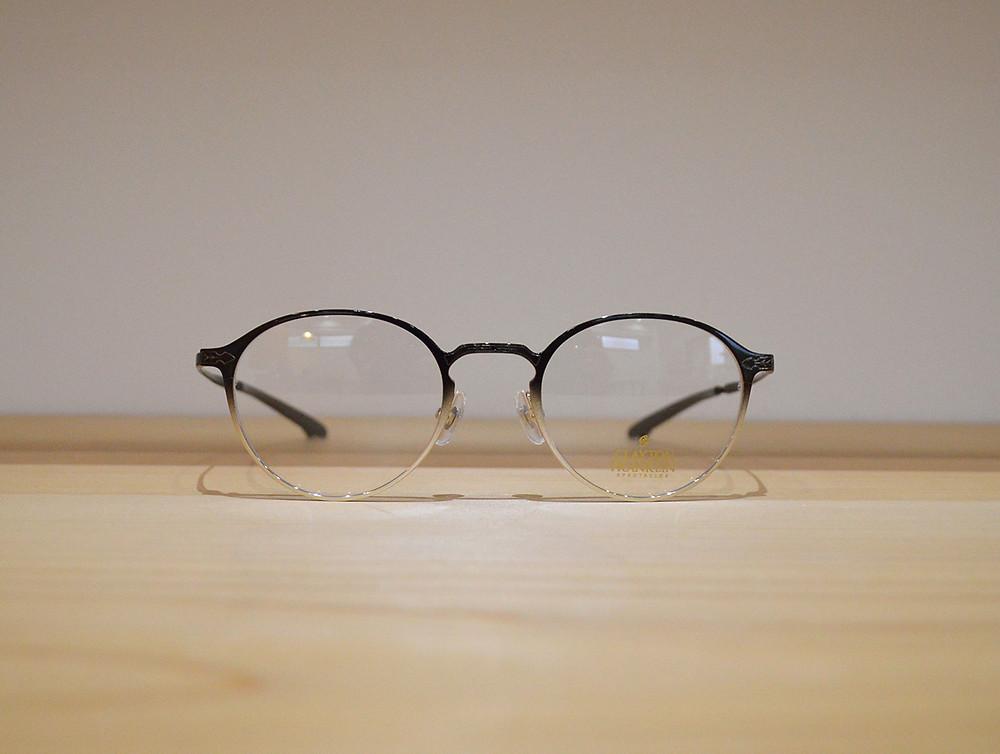 CLAYTON FRANKLIN CF589 C-BKH (好印象を与える大人のオフィス眼鏡)