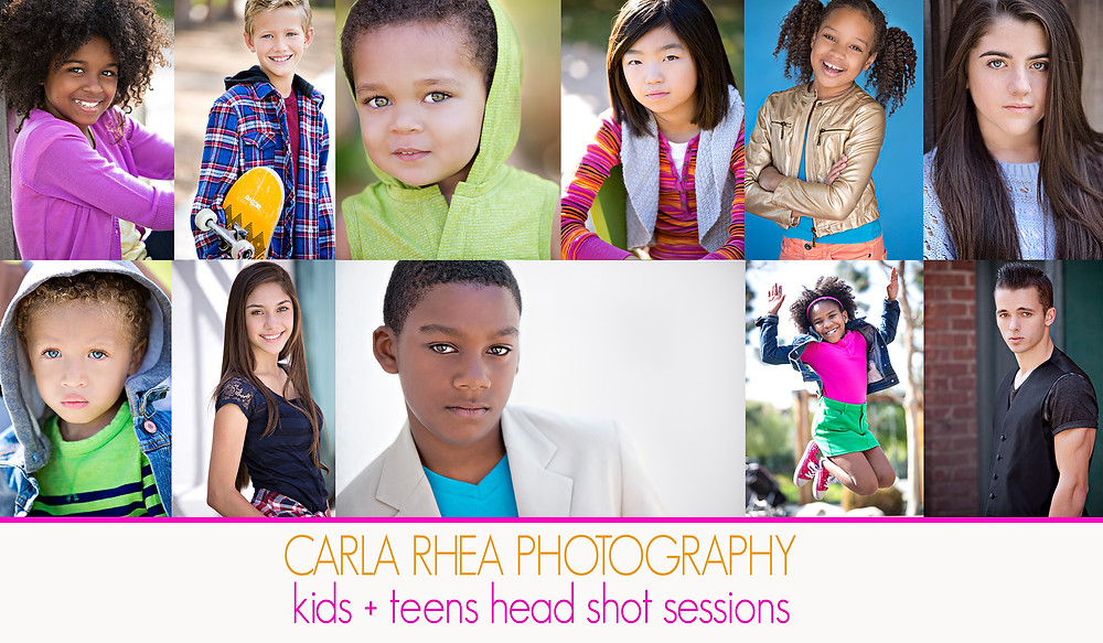 Head shots by Carla Rhea