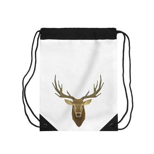 Oh Deer! Drawstring Bag