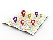 map with Pin Pointers 3d rendering image.jpg