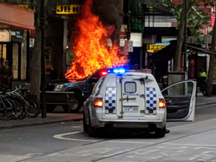 Violent Attack Witnessed in Melbourne - Life Can Change in an Instant