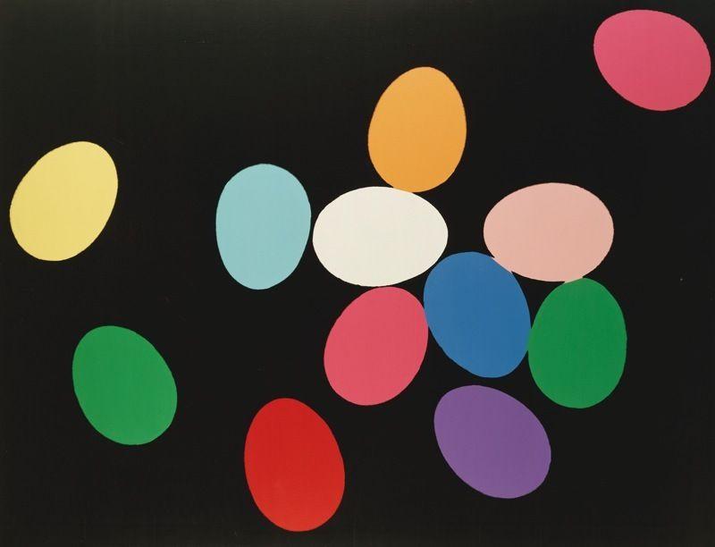 Eggs by Andy Warhol
