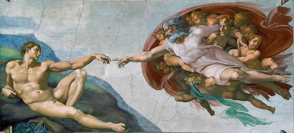 Creación de Adán - periecho.com