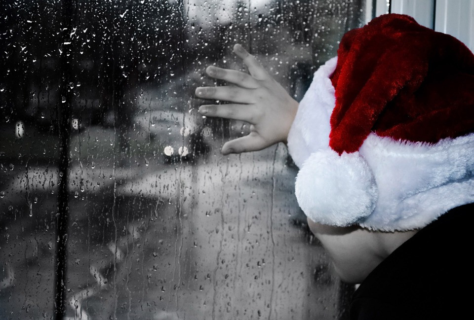 Words to Fill the Pain of Christmas - by periecho.com