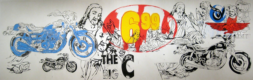 The Big C by Andy Warhol