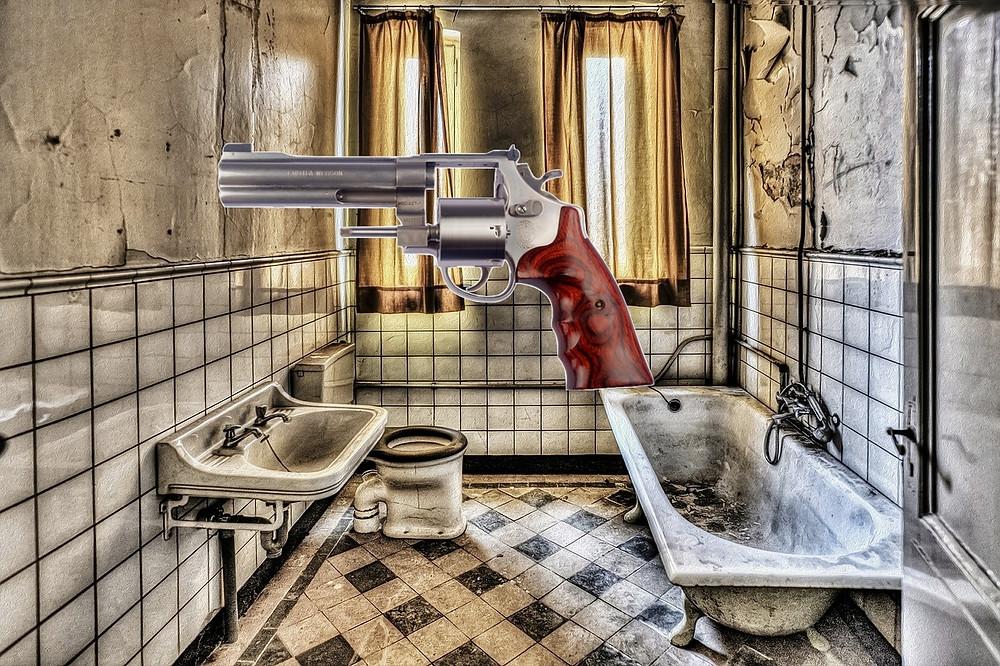 Gunshots in the Bathroom - periecho.com