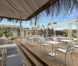 White Lounge Beach Bar