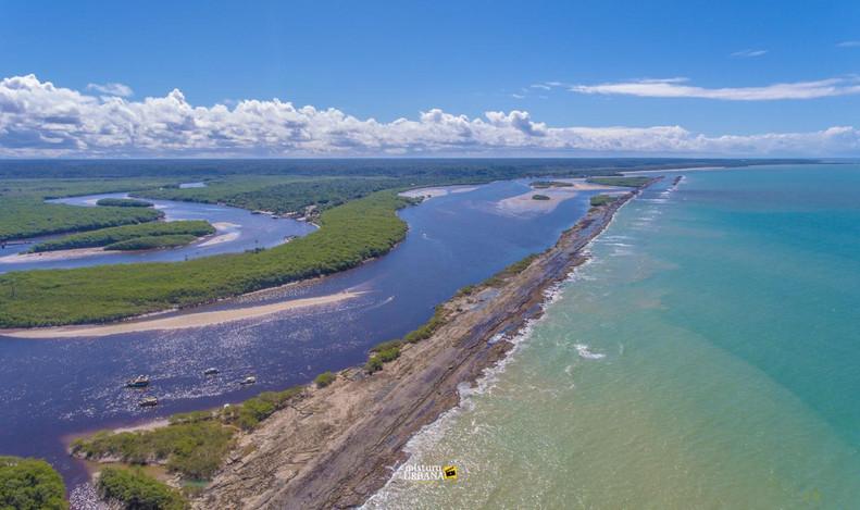 Rio João da Tiba Santa Cruz Cabrália