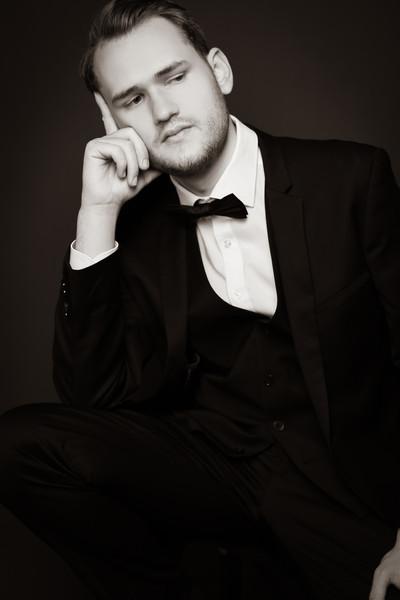 Künstlerportrait von Opernsänger Tim