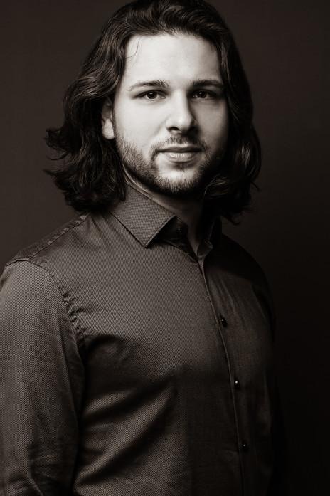 Künstlerportrait von Opernsänger Christopher