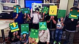 Children's entertainers, Minecraft