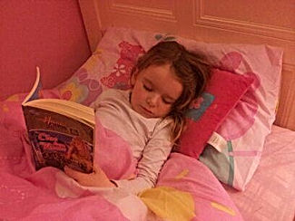 princess party asleep