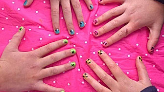 pamper party nail bar spaparty