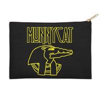 MUNNYCAT Official Merch Sobek Logo Coin Purse Black