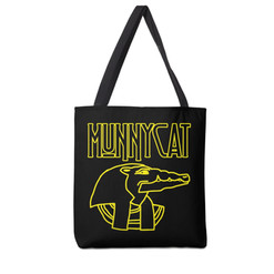 MUNNYCAT Official Merch Sobek Logo Bag Black