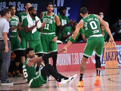 """Celtics: la risposta dei """"Jedi"""""""