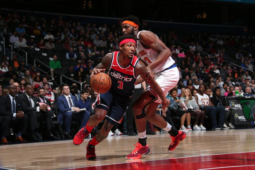 bradley beal washington wizards nba around the game