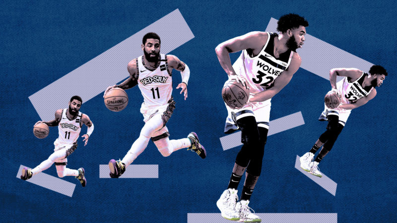 kyrie irving karl anthony towns nba around the game