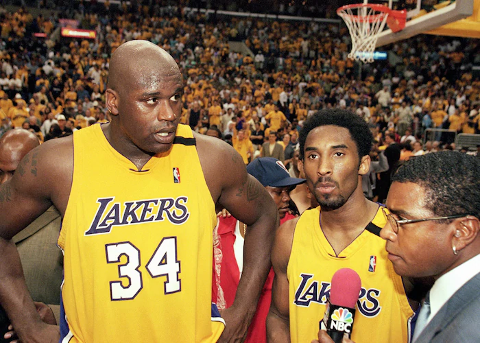 shaquille o'neal kobe bryant nba around the game