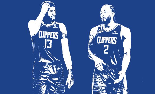 Kawhi Leonard Paul George Los Angeles Clippers NBA Around the Game