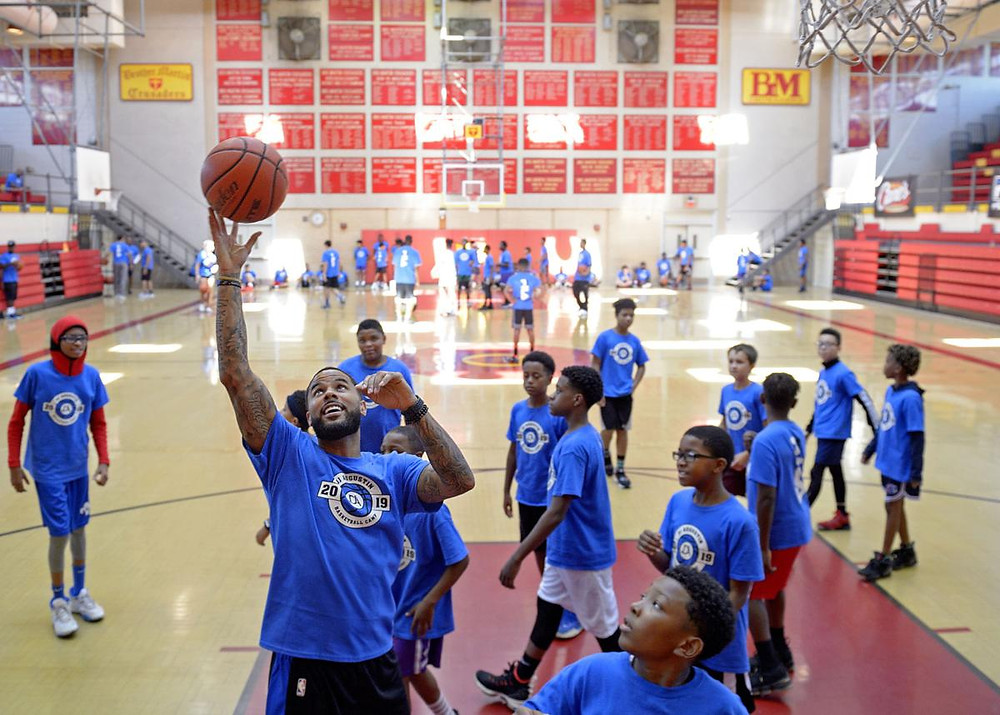 dj augustin summer camp new orleans NBA around the game