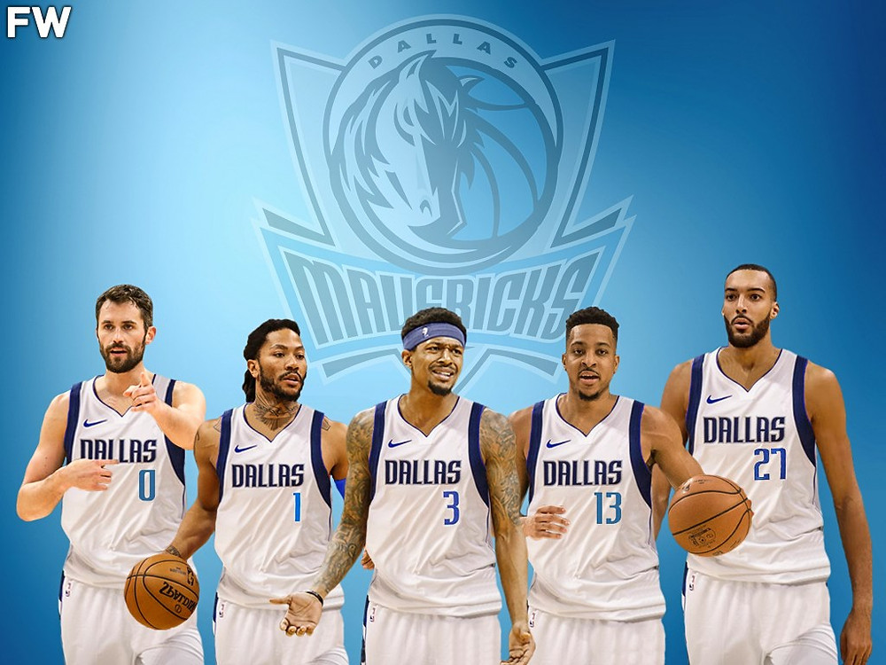 dallas mavericks nba around the game kevin love derrick rose bradley beal rudy gobert cj mccollum
