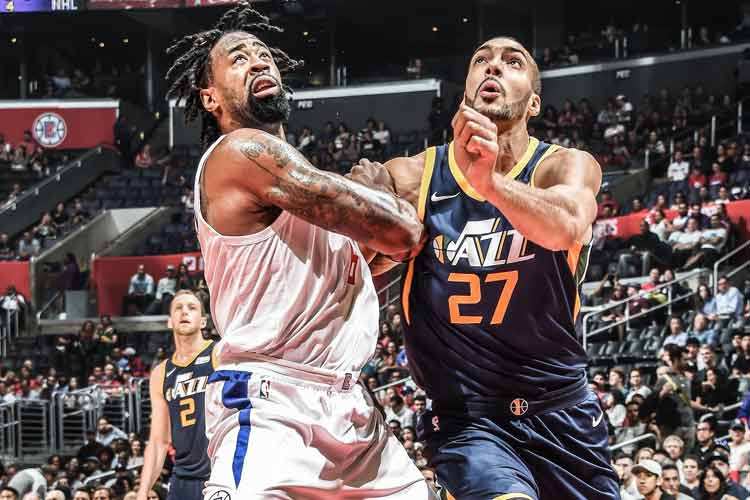 rudy gobert utah jazz nba around the game