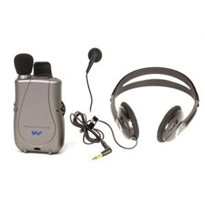PockeTalker Ultra Duo with Standard Headphones + Single Mini Earbud
