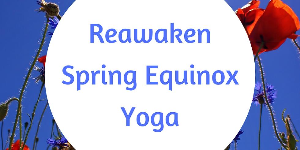 Seasonal Transition Yoga: Spring Equinox | East Wichita