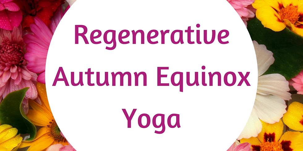 Seasonal Transition Yoga: Autumn Equinox