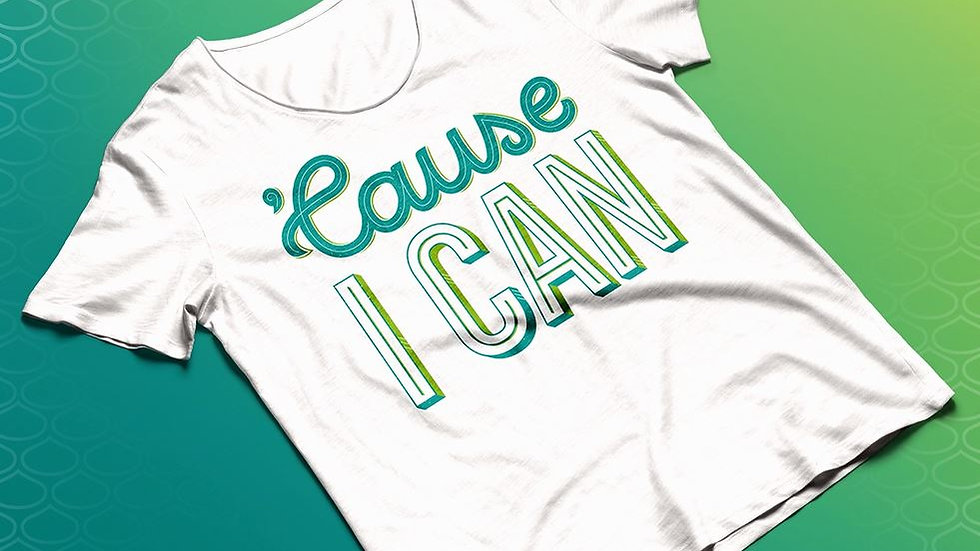 'Cause I Can T-shirt