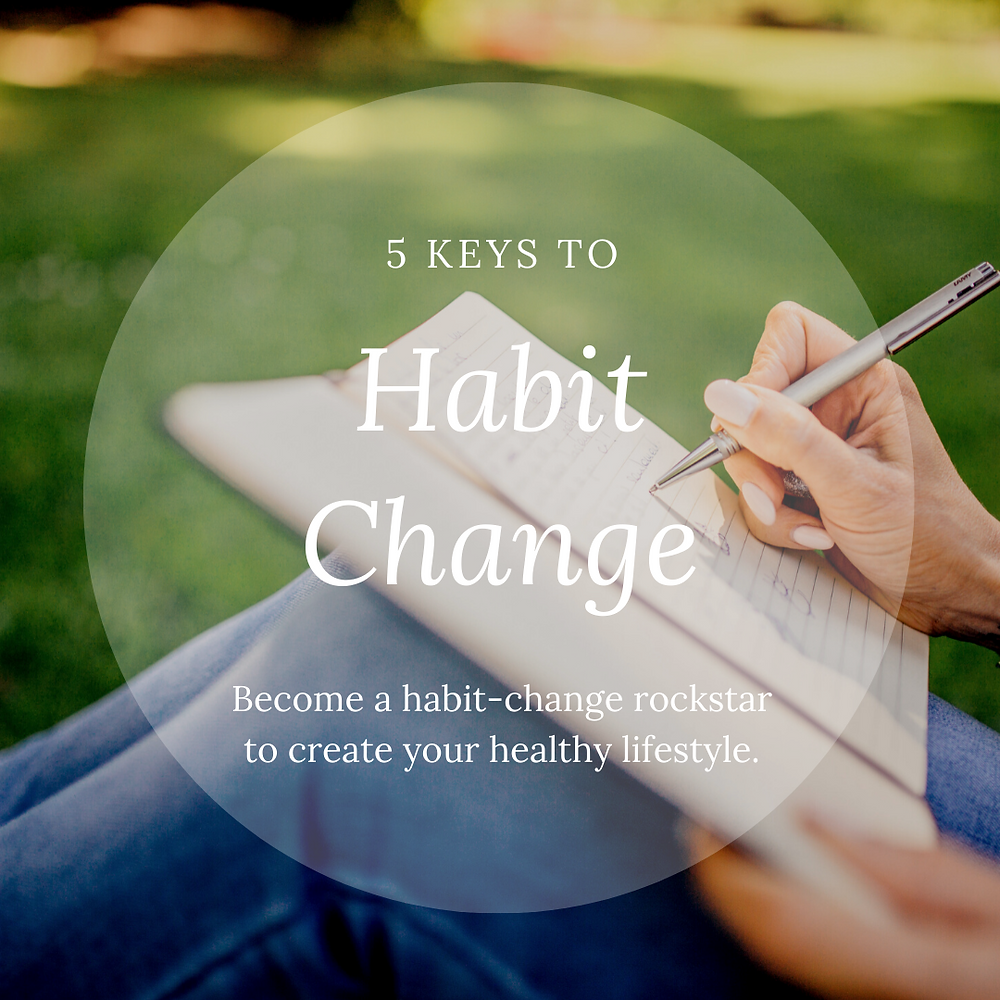 Become a habit-change rockstar to create your healthy lifestyle