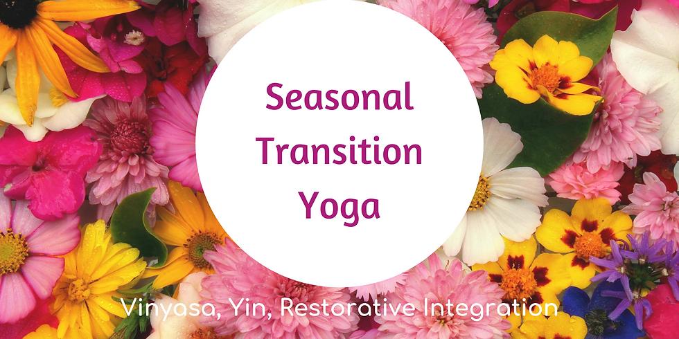 Seasonal Transition Yoga at Botanica