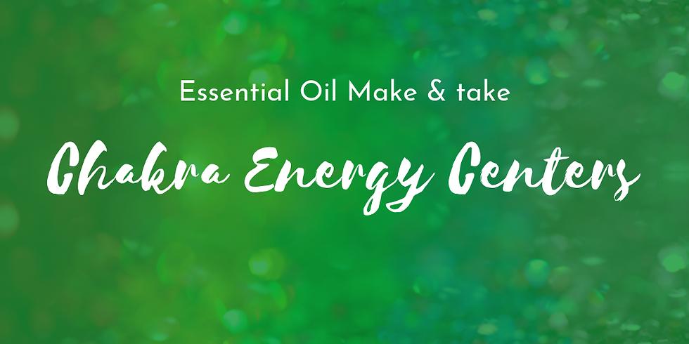 Chakras: An Essential Oils Make + Take Event