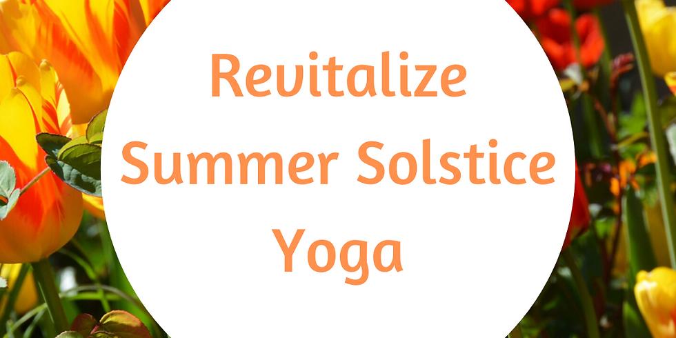 Seasonal Transition Yoga: Summer Solstice