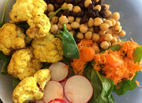 Roasted Cauliflower Buddha Bowl