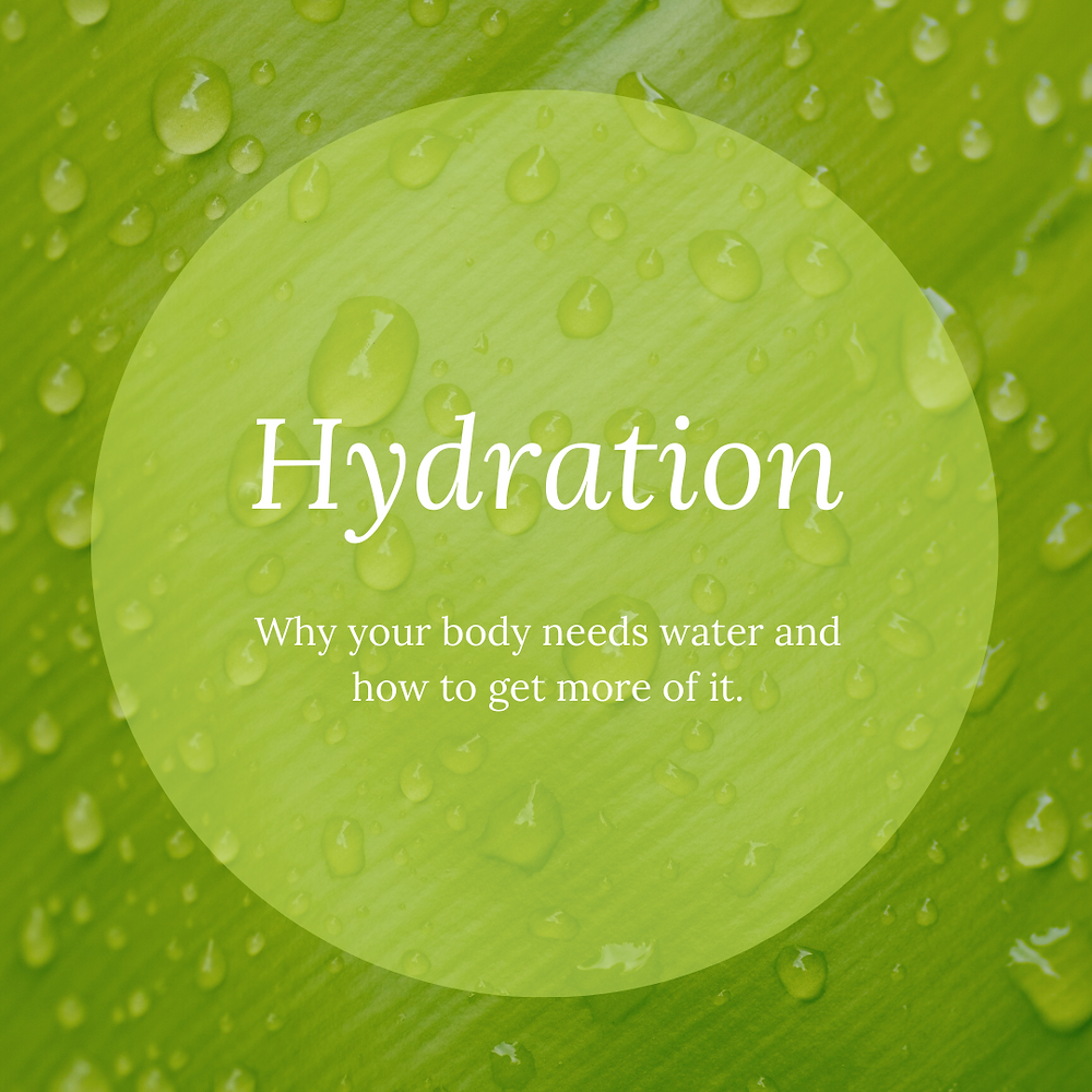 Why your body needs water and how to get more of it.