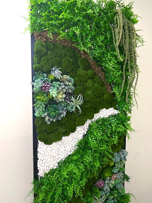 "Standing Artificial ""Living"" Wall"